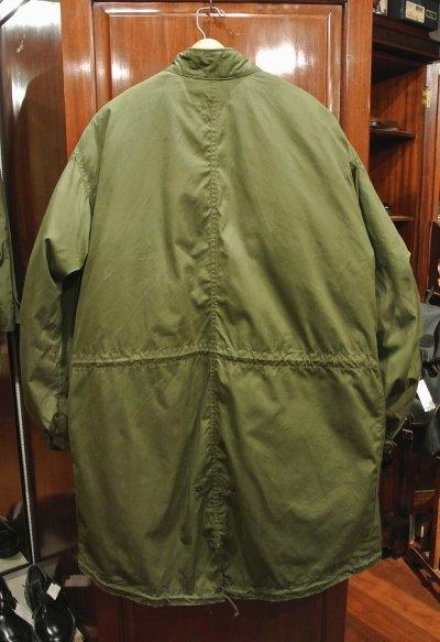画像2: (USED) 70s U.S ARMY M-65 Field Parka COAT モッズコート ライナー付き【SMALL】ビンテージ ユーズド