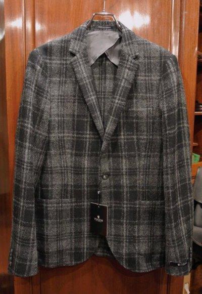 画像1: 新品 Tiger of Sweden ウールジャケット (Black/Gray 48,50) ルーマニア製
