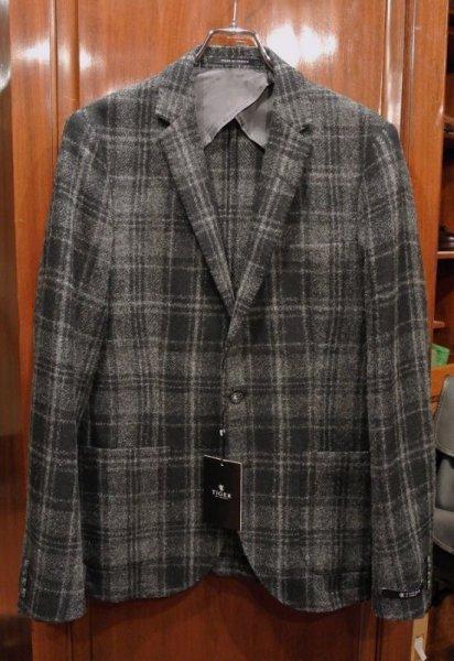 画像1: 新品 Tiger of Sweden ウールジャケット (Black/Gray 48,50) ルーマニア製 (1)