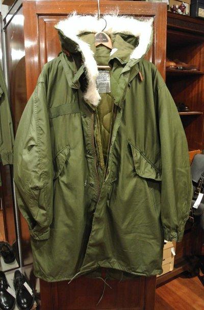画像1: 【フルセット】80s デッドストック U.S ARMY M-65 Field Parka COAT モッズコート ライナー/フード付き【SMALL】