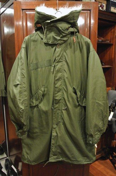画像2: 【フルセット】80s デッドストック U.S ARMY M-65 Field Parka COAT モッズコート ライナー/フード付き【SMALL】