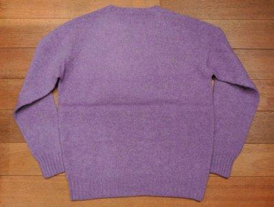 画像3: HOLD. ポロラルフローレン シェトランドウール+カシミヤ シャギードックセーター スコットランド製(Purple/M) 新品 並行輸入