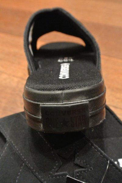 画像2: CONVERSE ONESTAR ワンスター スウェード サンダル レディース (Black/US8.5/25.5cm ) コンバース 日本未発売 新品 箱なし