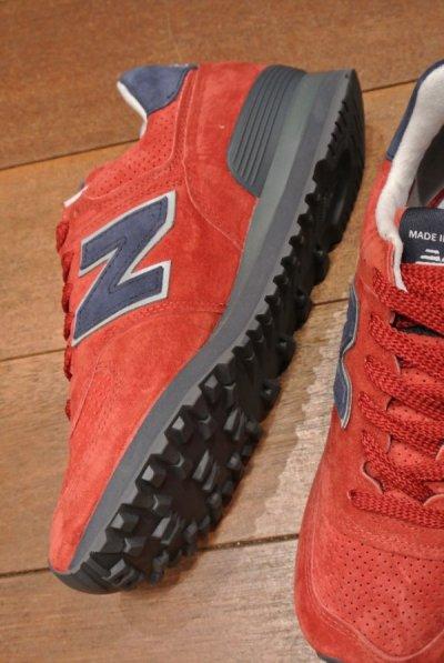 画像3: NEW BALANCE 574 レザー Made in USA【6/24cm】ニューバランス アメリカ製 新品 箱無し
