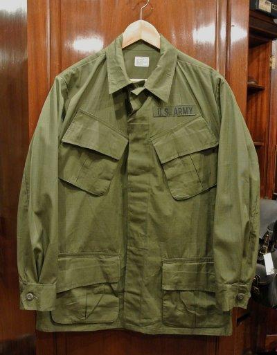 画像1: 69年デッドストック U.S ARMY リップストップ ジャングルファティーグジャケット【SMALL-REGULAR】