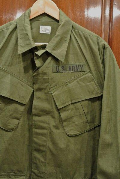 画像2: 69年デッドストック U.S ARMY リップストップ ジャングルファティーグジャケット【SMALL-REGULAR】