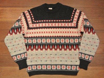 画像1: (VTG/USED)西ドイツ製 シェトランドセーター