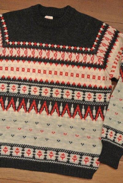 画像2: (VTG/USED)西ドイツ製 シェトランドセーター
