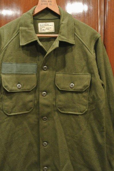 画像2: DEAD STOCK 70s US ARMY WOOL SHIRTS デッドストック  ウールシャツ 【SMALL】