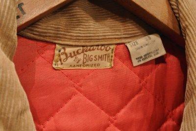 画像3: (VTG/USED) 60s Buckaroo by BIGSMITH デニムジャケット 中綿キルティング (38) ビンテージ 中古