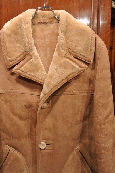画像2: (USED) WOOLRICH Shearling Coat ウールリッチ ムートンコート (Brown/40) ビンテージ 中古