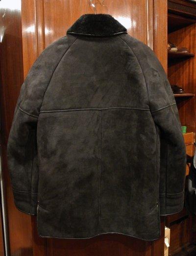 画像3: (USED) NURSEYS Shearling Coat ナーセイズ ムートンコート(Black/38)ビンテージ 中古