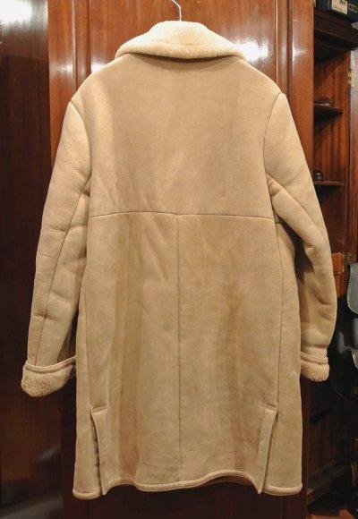 画像3: (VTG/USED) 70s Abercrombie & Fitch Shearling Coat ムートンコート(Beige/38)ビンテージ 中古