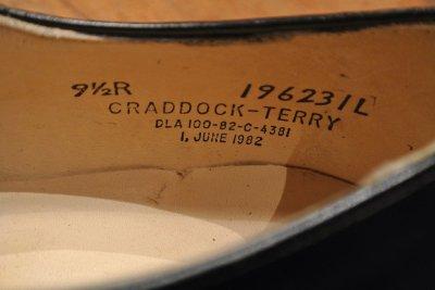 画像3: 82年製 デッドストック U.S NAVYサービスシューズ 【9.5-R】CRADDOCK-TERRY .製