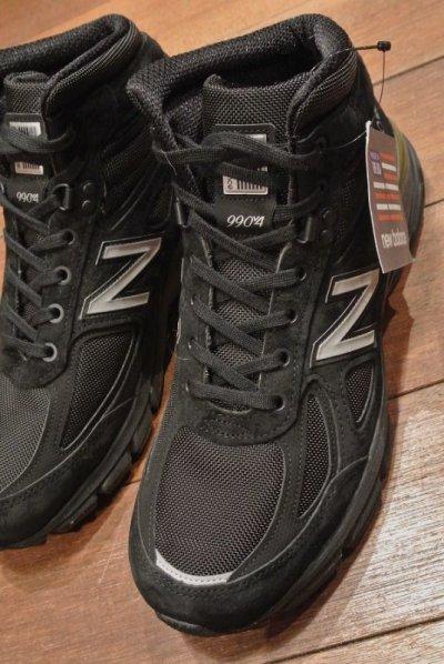 画像1: NEWBALANCE MO990 v4 Made in USA 【BLACK/ 10-D 】ニューバランス アメリカ製 新品 箱無し