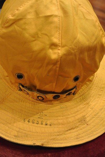 画像3: 40s Dead Stock WWII USAAF Reversible Sun Hat デッドストック リバーシブルハット (OD×Yellow/6) 61cm