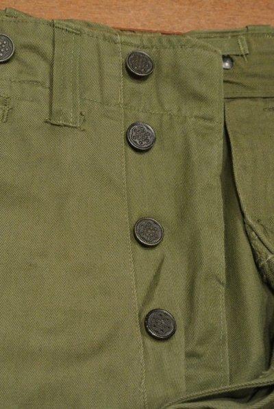 画像2: 40s Dead Stock M-43フィールドパンツ 13スターボタン (OD/W32 L32表記) デッドストック トラウザーズ