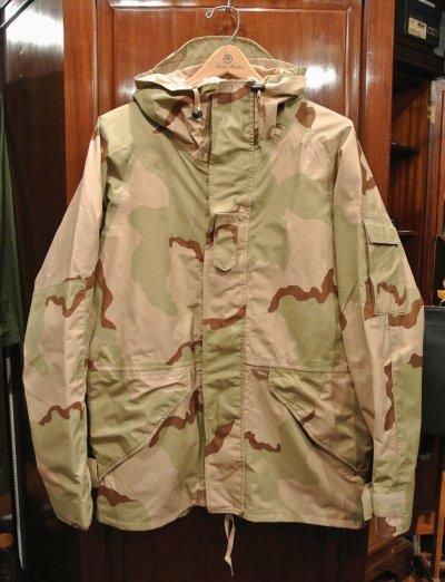 画像1: USED 2000年 U.S.ARMY ECWCS GEN1 ゴアテックスパーカー デザートカモ(M-R) 中古