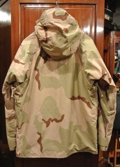 画像3: USED 2000年 U.S.ARMY ECWCS GEN1 ゴアテックスパーカー デザートカモ(M-R) 中古