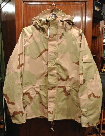 画像1: 2004年 Deadstock U.S.ARMY ECWCS GEN1 ゴアテックスパーカー デザートカモ(L-S) デッドストック