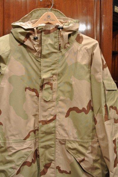 画像2: USED 2000年 U.S.ARMY ECWCS GEN1 ゴアテックスパーカー デザートカモ(M-R) 中古