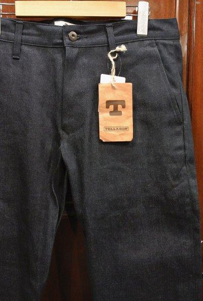 画像2: TELLASON  INDIGO Denim trousers MADE IN U.S.A (32) 廃盤モデル 日本製生地 アメリカ製