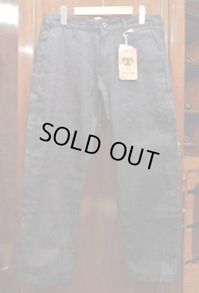 画像1: TELLASON  INDIGO Denim trousers MADE IN U.S.A (32) 廃盤モデル 日本製生地 アメリカ製 (1)