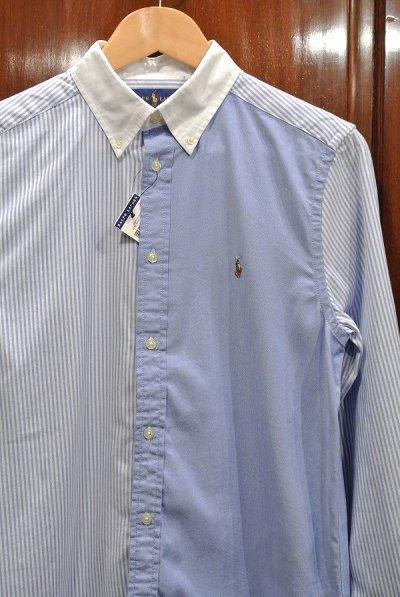 画像2: ポロラルフローレン クレイジーパターン ストレッチ オックスフォード B.Dシャツ(BOYS L,XL) アメリカボーイズサイズ 新品 並行輸入