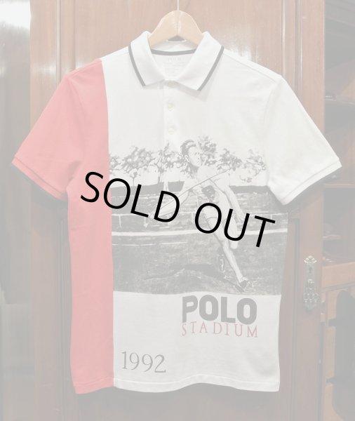 画像1: (EXCELLENT USED)ポロラルフローレン 1992 スタジアム コレクション ポロシャツ Javelin Mesh Polo(S)  (1)