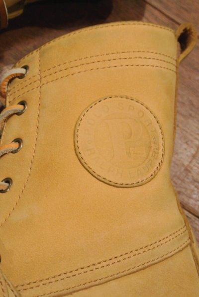 画像3: (VTG/USED) MID 90s POLO SPORT ポロスポーツヌバック ブーツ【Wheat/7.5-D】ビンテージラルフローレン 中古