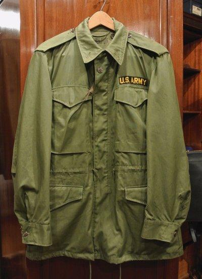 画像1: 50s U.S.ARMY M-51 フィールドジャケット(S-REGULAR) 中古 ビンテージ
