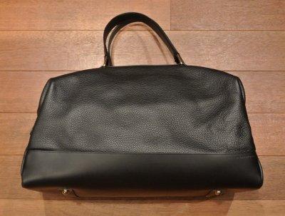 画像2: GLOBE TROTTER グローブトロッター Propellor Overnight Bag レザー2WAYバッグ(Black) 新品 イングランド製 定価253000 70%OFF