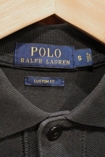 画像3: 【クリックポスト198円も可】(USED) ポロラルフローレン ロゴ メッシュポロシャツ【Black/S】中古