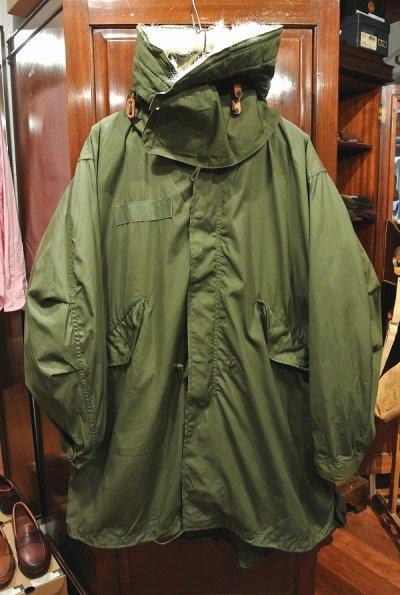 画像2: 【フルセット】70-80s デッドストック U.S ARMY M-65 Field Parka Coat モッズコート ライナー/フード付き【MEDIUM】フィッシュテイルパーカー