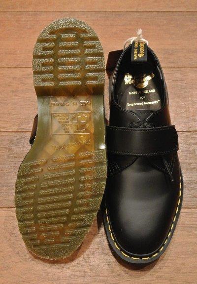 画像3: 新品 エンジニアドガーメンツ×ドクターマーチン イングランド製 ベルクロプレーントゥ (BLACK/UK6,US7) Engineered Garments×Dr.Martens VELCRO