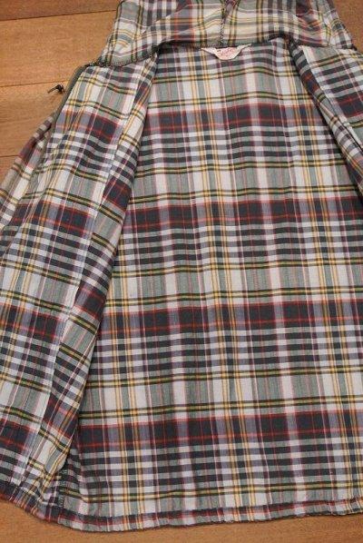 画像3: (VTG/USED) 60s Sportswear マドラスチェック フルジップパーカー (M)ビンテージ 中古 ジャケット