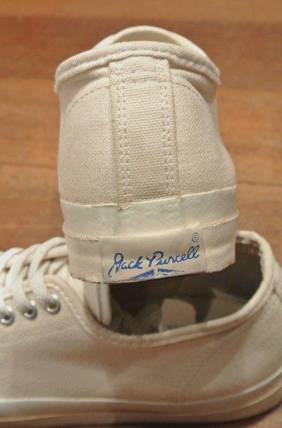 画像3:  (USED) 90s CONVERSE JACK PURCELL ジャックパーセル アメリカ製 (白/26-26.5cm) 中古 ビンテージ