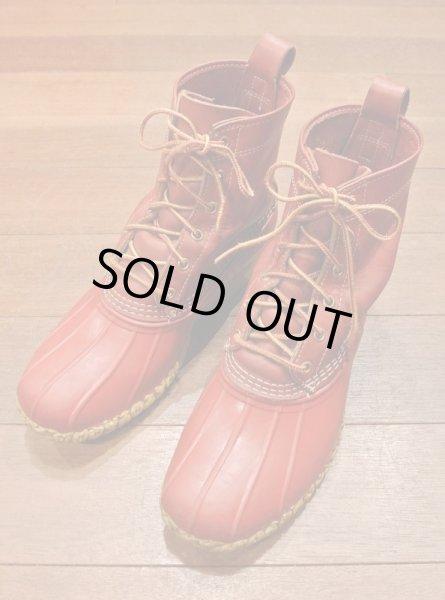 画像1: USED LL BEAN アメリカ限定 ビーンブーツ メインハンティング ブーツ 8インチ(RED/10M) 中古 LLビーン 日本未発売 (1)