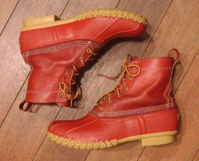 画像2: USED LL BEAN アメリカ限定 ビーンブーツ メインハンティング ブーツ 8インチ(RED/10M) 中古 LLビーン 日本未発売