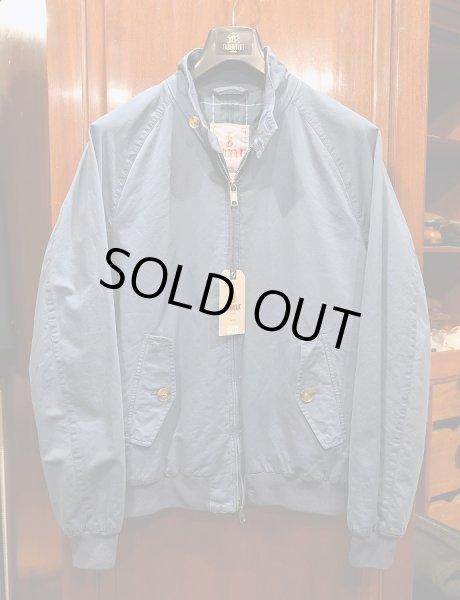 画像1: 新品 BARACUTA G9 Garment Dyed バラクータ 後染め ハリントンジャケット(Blue/40) 並行輸入 ルーマニア製 (1)