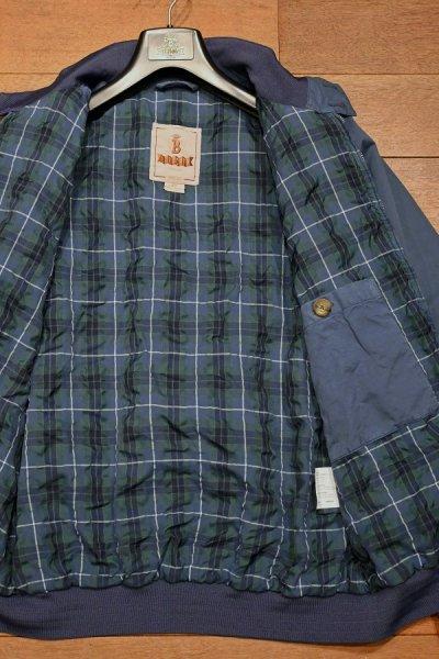 画像3: 新品 BARACUTA G9 Garment Dyed バラクータ 後染め ハリントンジャケット(Blue/40) 並行輸入 ルーマニア製