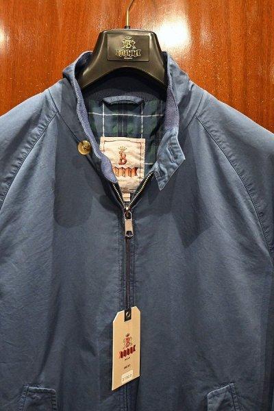 画像2: 新品 BARACUTA G9 Garment Dyed バラクータ 後染め ハリントンジャケット(Blue/40) 並行輸入 ルーマニア製