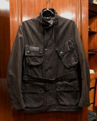 画像1: USED Barbour INTERNATIONAL JACKET SL インターナショナル オイルド ジャケット (BLACK/36) 中古 正規輸入品