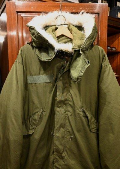 画像2: 【フルセット】70s デッドストック U.S ARMY M-65 Field Parka Coat モッズコート ライナー/フード付き【MEDIUM】フィッシュテイルパーカー
