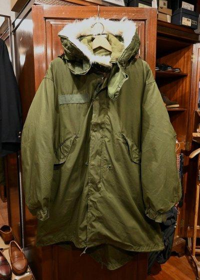 画像1: 【フルセット】70s デッドストック U.S ARMY M-65 Field Parka Coat モッズコート ライナー/フード付き【MEDIUM】フィッシュテイルパーカー