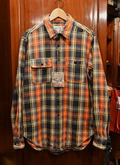 画像1: 未使用品 Engineered Garments WORKADAY(エンジニアードガーメンツ ワーカデイ) コットン ヘビーネルシャツ(M) 新品