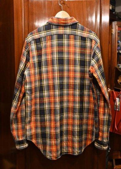 画像3: 未使用品 Engineered Garments WORKADAY(エンジニアードガーメンツ ワーカデイ) コットン ヘビーネルシャツ(M) 新品