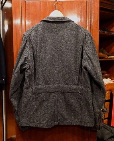 画像3: (EXCELLENT USED)Engineered Garments(エンジニアードガーメンツ)ヘリンボーン ツイード ジャケット(GRAY/M) 中古