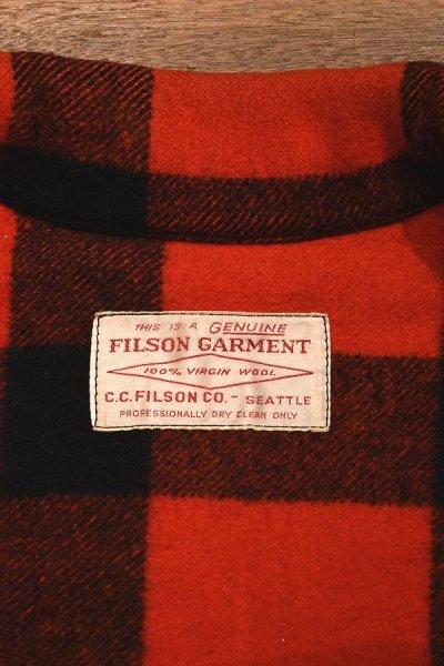 画像3: (VTG/USED) FILSON フィルソン ウールマッキーノクルーザージャケット 希少モデル (サイズ表記なし/38?) 中古 ビンテージ