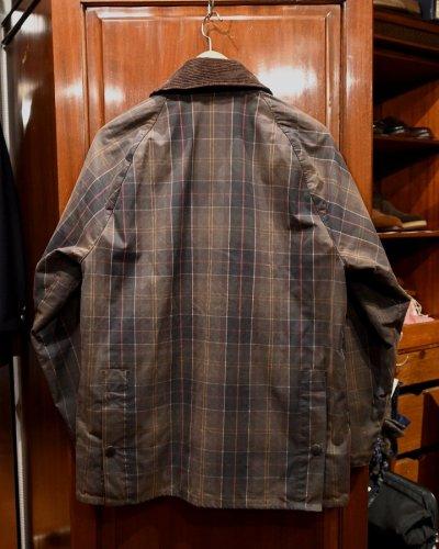 画像2: (USED) Barbour Tartan Bedale バブアー タータンビデイル オイルドジャケット (Brown/38) 中古 ビンテージ